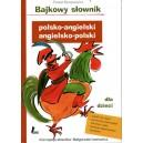 Bajkowy słownik polsko-angielski angielsko-polski dla dzieci